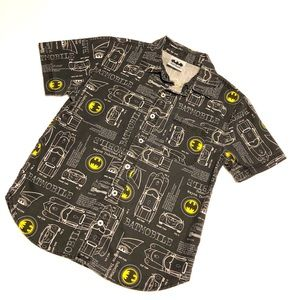 Other - Batman sign mobile full graphic button down shirt